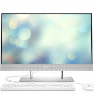 Купить Моноблок HP 27-dp0001ur (27.00 IPS (LED)/ Ryzen 3 4300U 2700MHz/ 4096Mb/ SSD / AMD Radeon Graphics 64Mb) MS Windows 10 Home (64-bit) [14Q49EA]