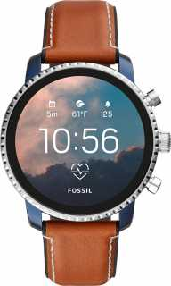 Купить Смарт-часы Fossil FTW4016, Gen 4 - Explorist HR Tan Leather