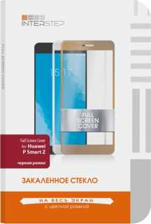 Купить Защитное стекло InterStep для Huawei P Smart Z Black, FSC для Huawei P Smart Z, Black