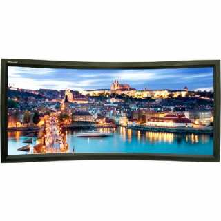 Купить Экран для проектора Lumien, Cinema Home Curved (16:9) 159 198x352 Matte White